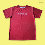 Red WSAO Custom Shirt