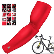 CYCLING ARM SLEEVES RED