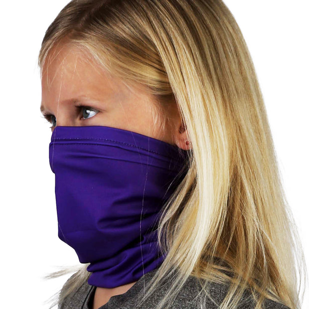 Solid Purple | Kids Gaiter