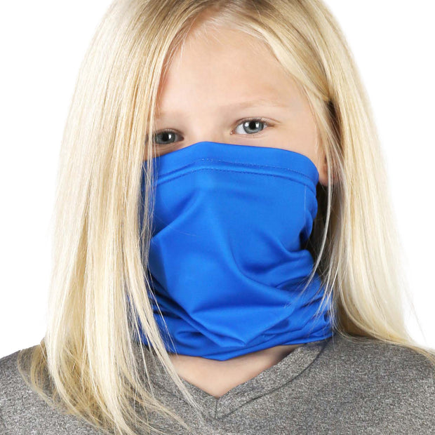 Solid Royal Blue | Kids Gaiter