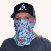 neck gaiter for nurses