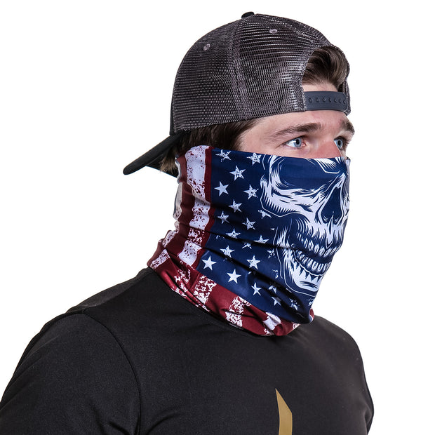 grateful dead neck gaiter