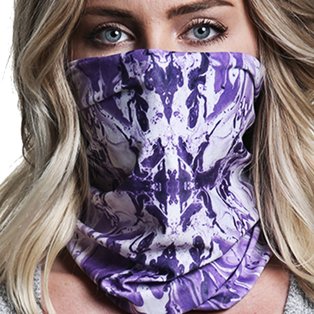 Grape Swirl | Neck Gaiter