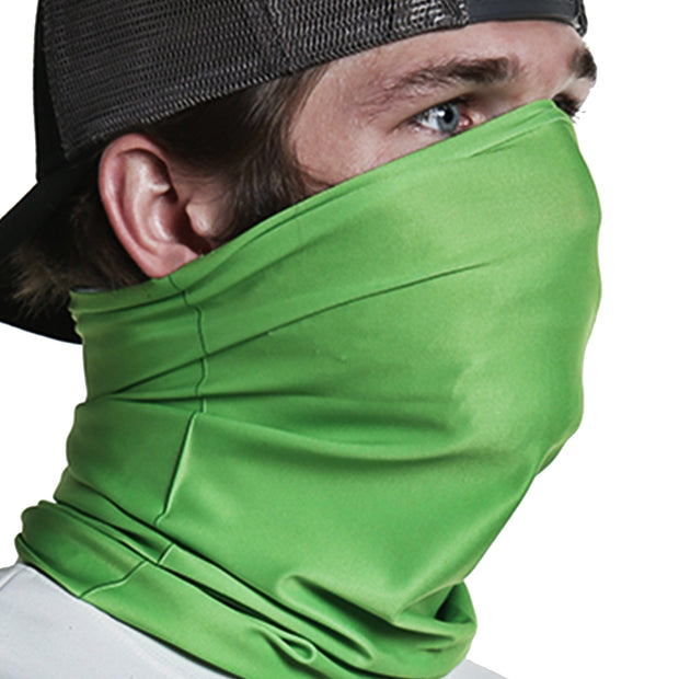 Solid Lime Green | Neck Gaiter