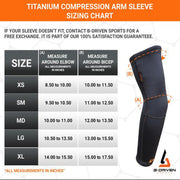 Titanium Arm Sleeve (Pair)