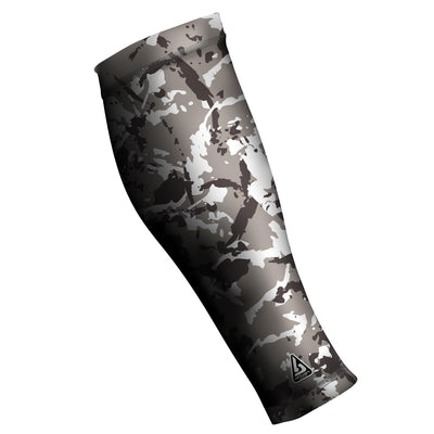UNISEX COMPRESSION CALF SLEEVES, CAMO GREY