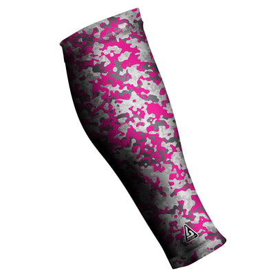 UNISEX COMPRESSION CALF SLEEVES, CAMO PINK
