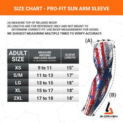 Red Compression Arm Sleeve | Sun Sleeve