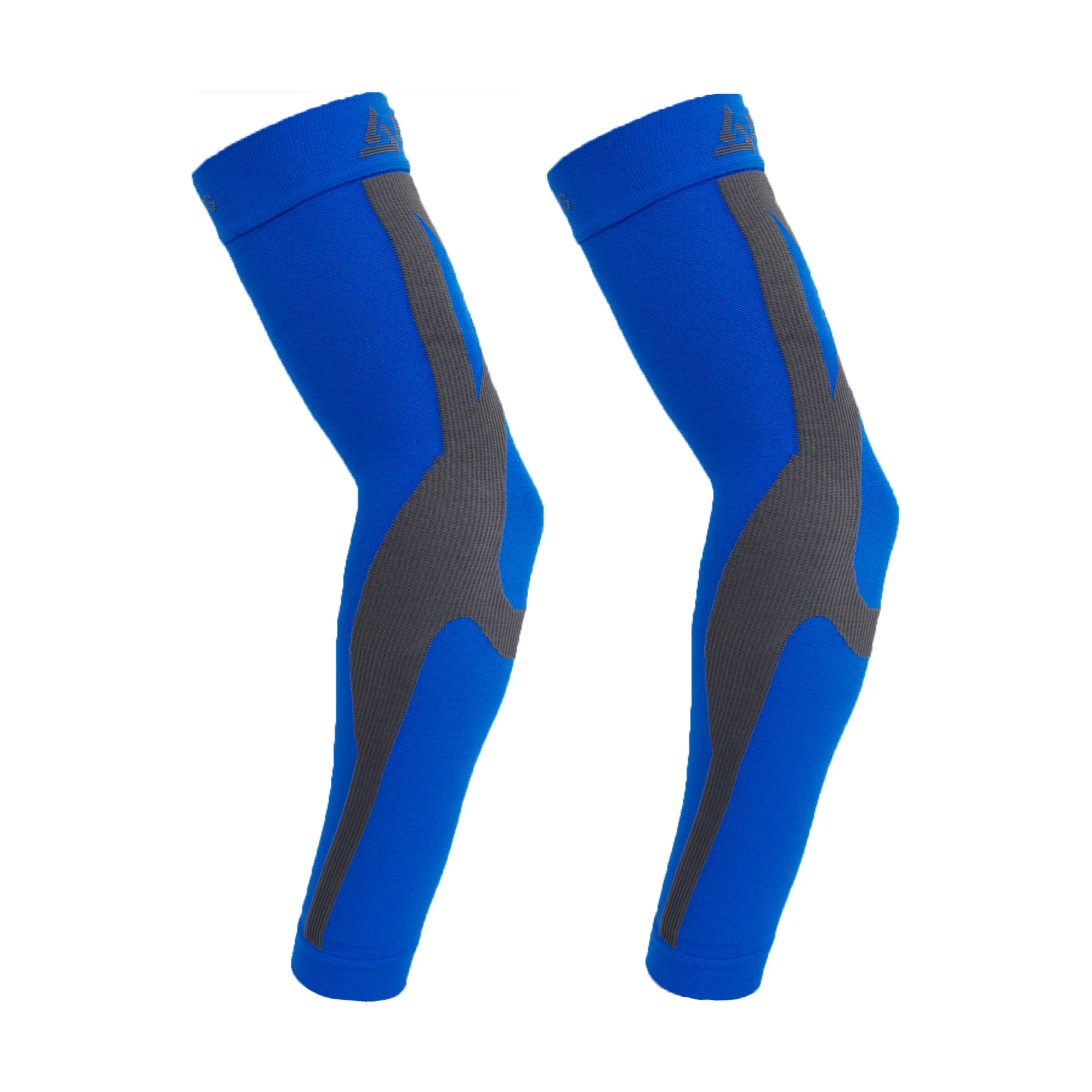 ENHANCED GRADUATED COMPRESSION ARM SLEEVE (PAIR) (BLUE)