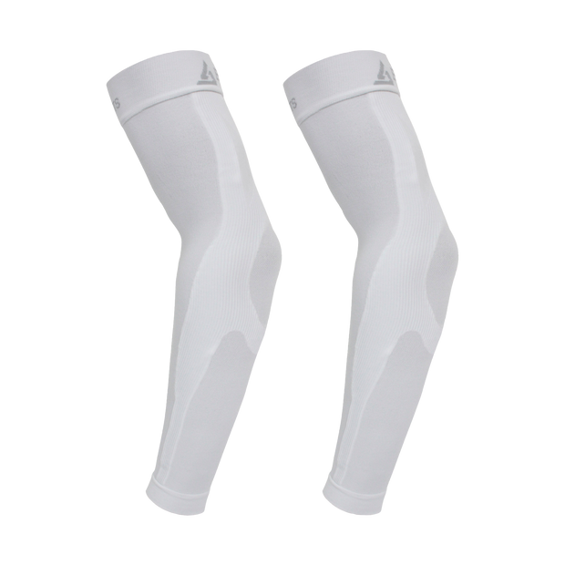 Enhanced Graduated Compression Arm Sleeve | White - Pair