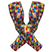 (2-PACK)- AUTISM ARM SLEEVE