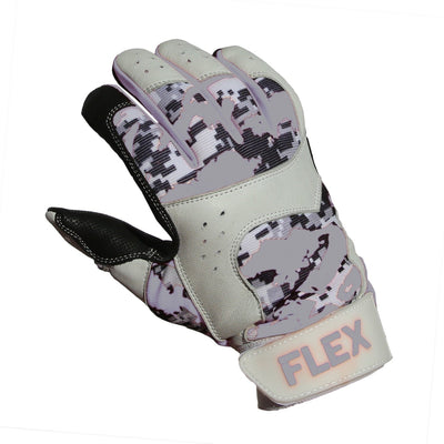 Flex Batting Glove, Grey