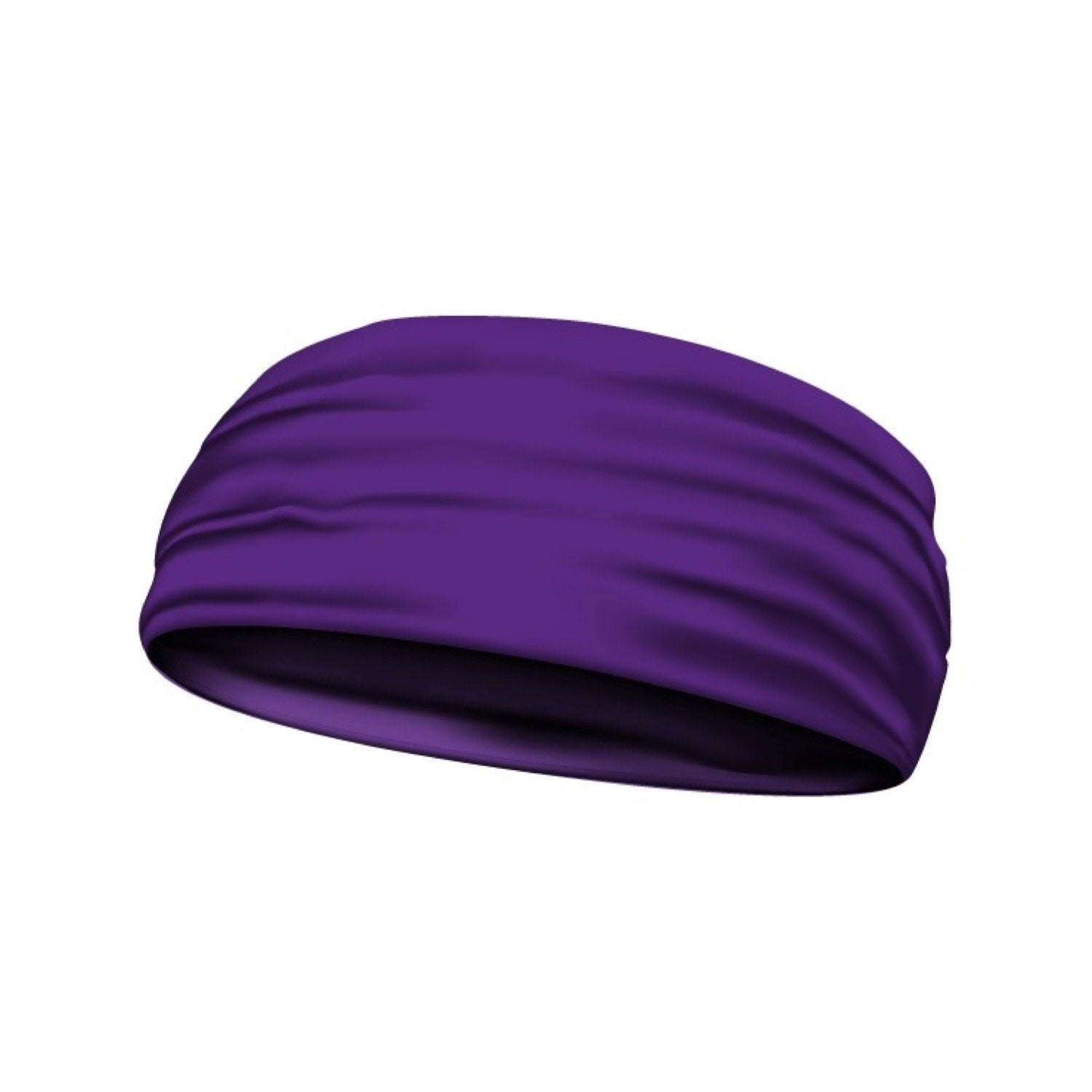 headband solid purple