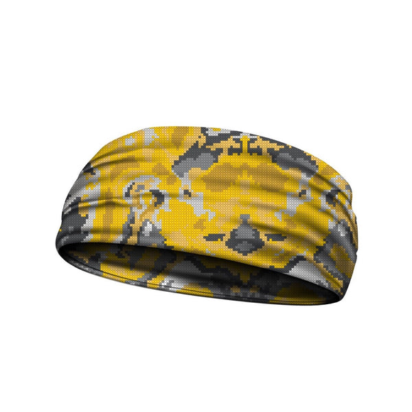 headbands wicked camo yellow 3 widths available