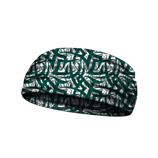 headbands tribal ink green 3 widths available