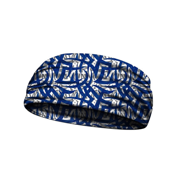 headbands tribal ink blue 3 widths available