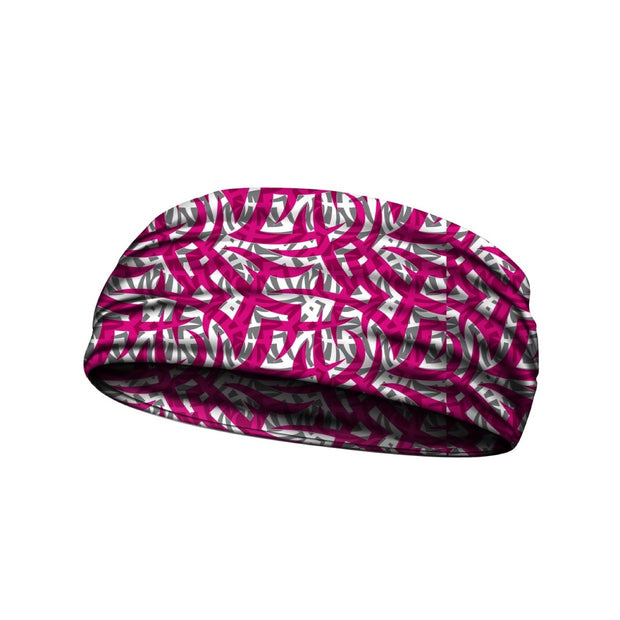 headbands tribal ink pink 3 widths available