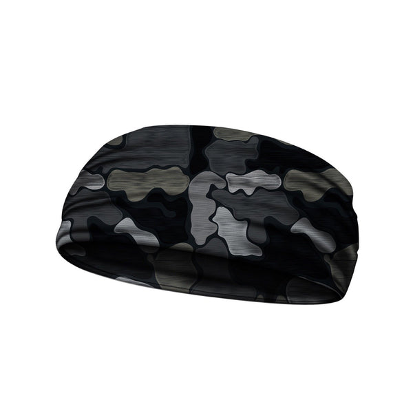 headbands brushed camo black 3 widths available