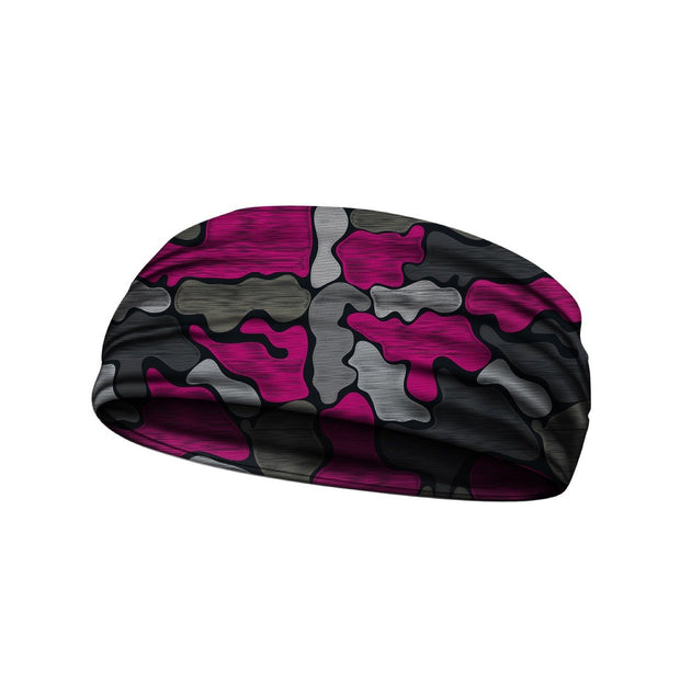 headbands brushed camo pink 3 widths available