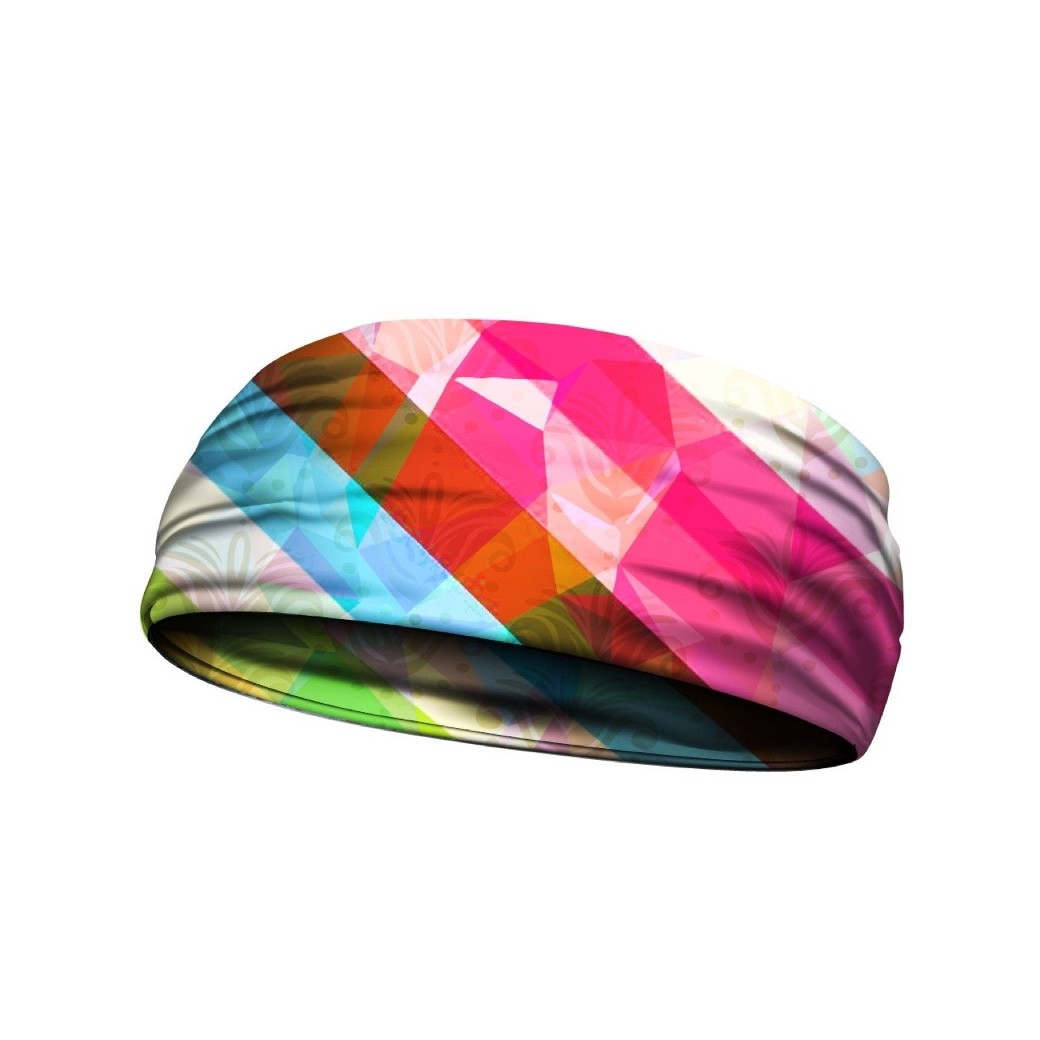 headbands rainbow prism mulit 3 widths available