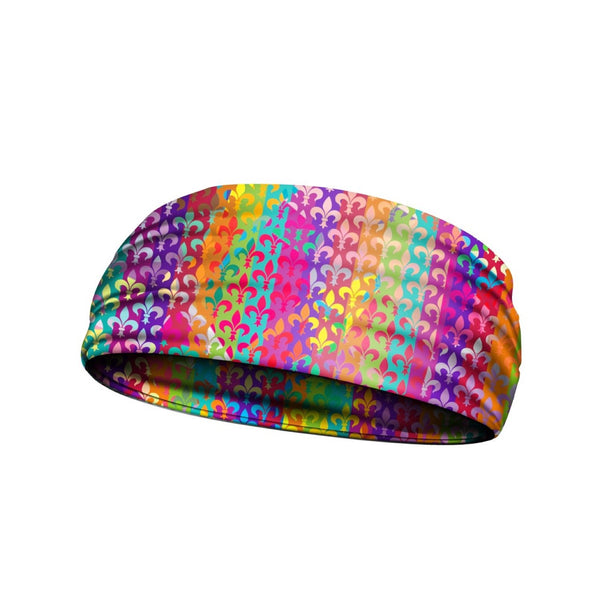 headbands band of rainbows multi 3 widths available