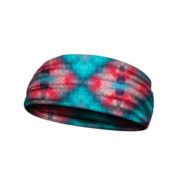 headbands shattered prism multi 3 widths available