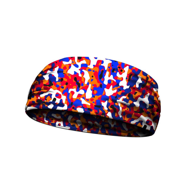 headbands jaw breaker puple orange 3 widths available