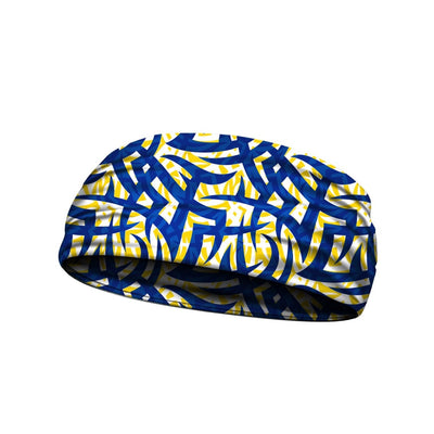 Tribal Ink Blue Yellow