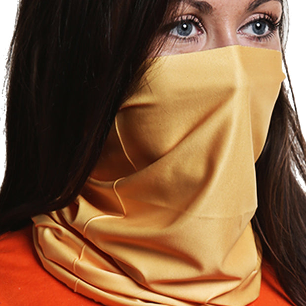 Solid Gold | Neck Gaiter