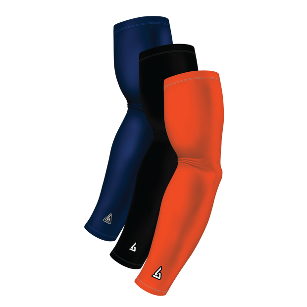 3-Pack Bundle | Solids | Orange Dark/Black/Blue Navy Dark