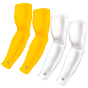 4-Pack Bundle | Solids | White/Yellow Bright