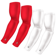4-Pack Bundle | Solids | White/Red Standard Dark
