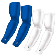 4-Pack Bundle | Solids | White/Blue Royal Bright