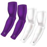 4-Pack Bundle | Solids | White/Purple Light