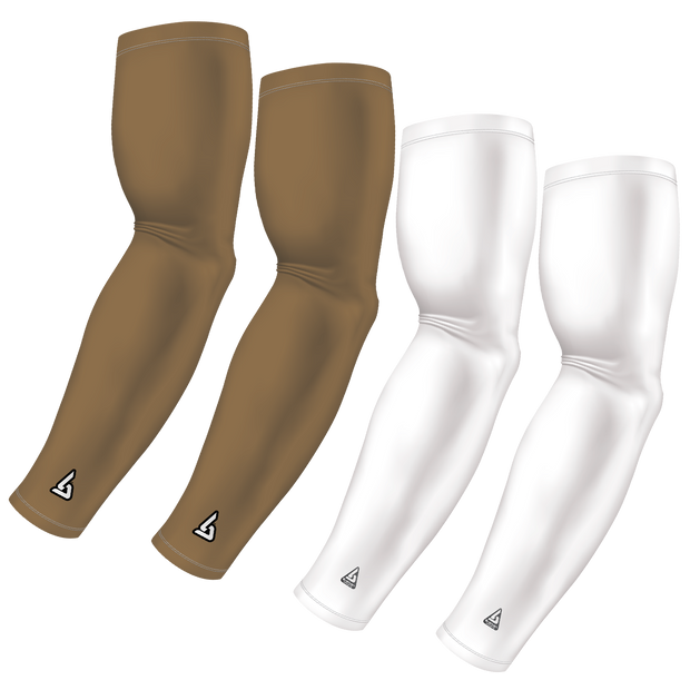 4-Pack Bundle | Solids | White/Gold Dark