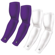 4-Pack Bundle | Solids | White/Purple Light / Medium