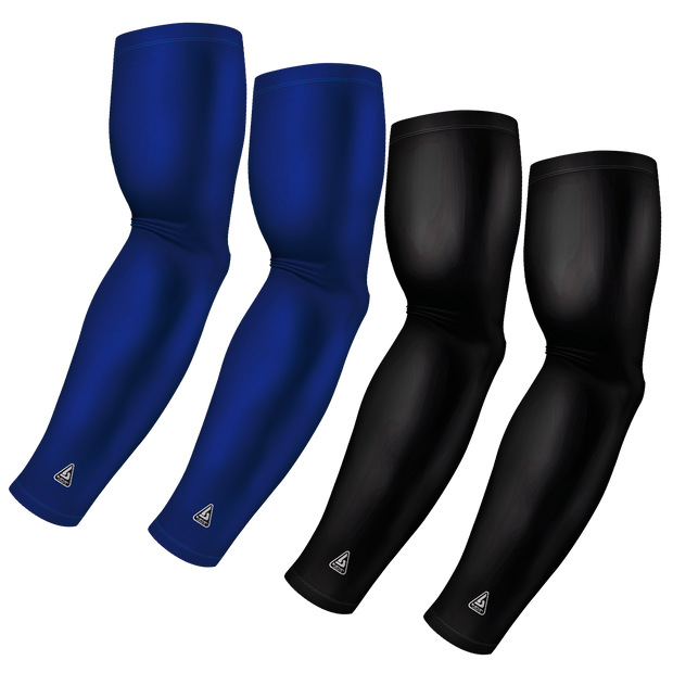 4-Pack Bundle | Solids | Black/Blue Standard Medium