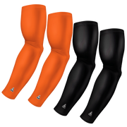 4-Pack Bundle | Solids | Black/Orange Medium