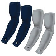 4-Pack Bundle | Solids | Blue Navy/Grey Light