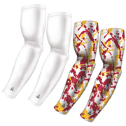 4-Pack Bundle | Solid/Flake Camo | White Bundle 2