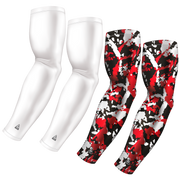 4-Pack Bundle | Solid/Flake Camo | White Bundle 5