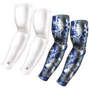 4-Pack Bundle | Solid/Flake Camo | White Bundle 6