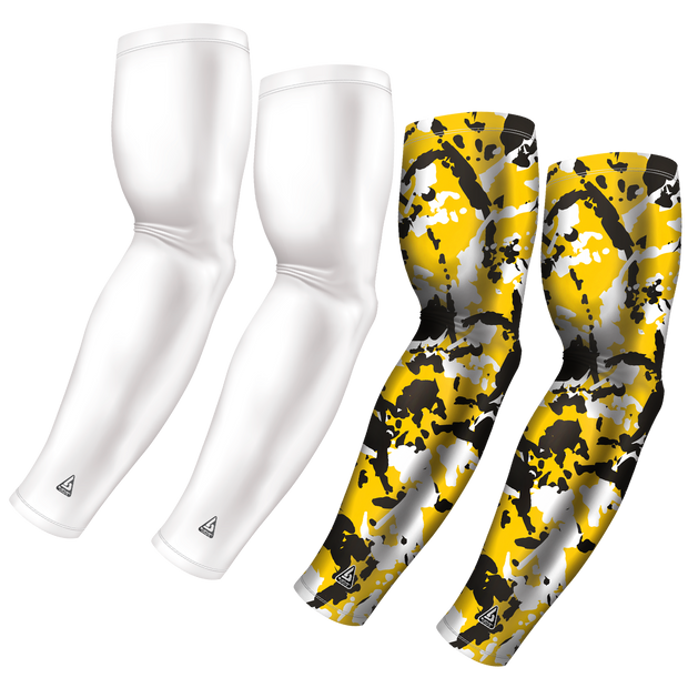 4-Pack Bundle | Solid/Flake Camo | White Bundle 7