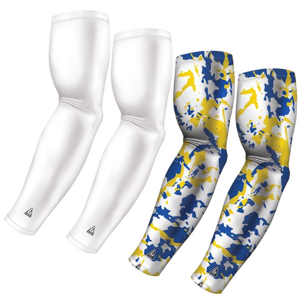 4-Pack Bundle | Solid/Flake Camo | White Bundle 9