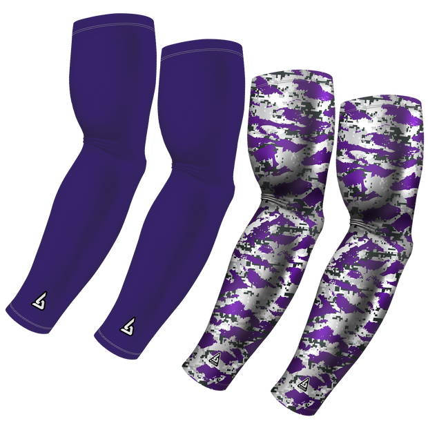 4-Pack Bundle | Solid/Flake Camo | Purple Dark