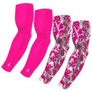 4-Pack Bundle | Solid/Flake Camo | Pink Bright Bundle 2