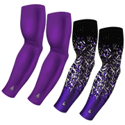 4-Pack Bundle | Solid/Flake Camo | Purple Light
