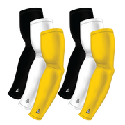 6-Pack Bundle | Solids |White/Black/Yellow Bright