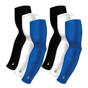 6-Pack Bundle | Solids |White/Black/Blue Royal Bright