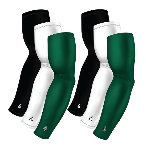 6-Pack Bundle | Solids |White/Black/Green Hunter